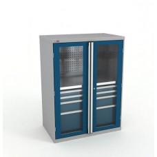 Шкаф инструментальный ВС-053 без наполнения (двери с окнами)