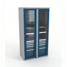 Шкаф инструментальный ВС-055 без наполнения (двери с окнами)