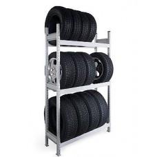 Стеллаж СТ-023 для хранения автошин и дисков