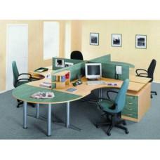 """Офисная мебель для персонала серии """"Лагуна"""""""