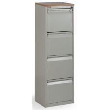 Шкаф файловый - картотека КД-614 (4 ящика) сварной