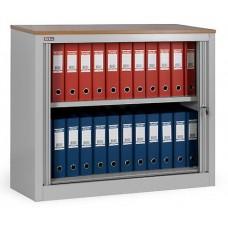 Шкаф офисный с дверьми-жалюзи КД-141