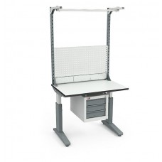 Стол монтажный СР-100-02 ESD + Экран ВС-100-Э3 ESD