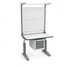 Стол монтажный СР-100-02 ESD + Экран ВС-100-Э4 ESD