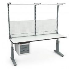 Стол монтажный СР-200-02 ESD + Экран ВС-200-Э2 ESD