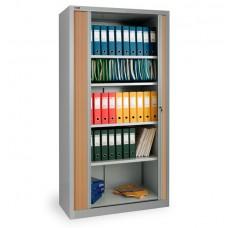 Шкаф архивный с дверьми-жалюзи КД-144 (4 полки)
